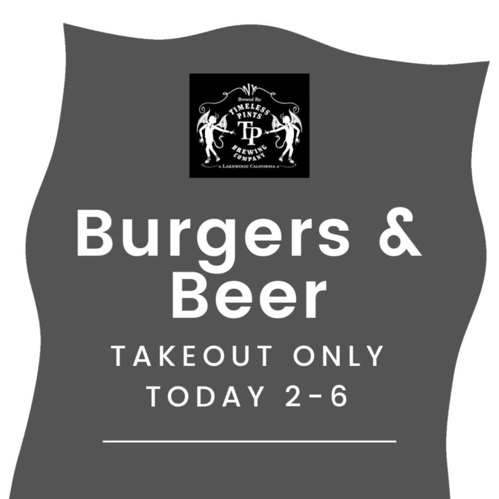 Pick up your beer & burgers today from 2-6. #saturday #bestbeer #supportlocalbusines…
